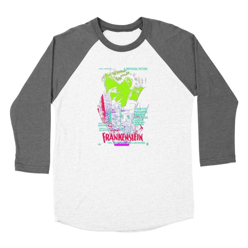Frankenstein Monster Women's Longsleeve T-Shirt by mostro's Artist Shop