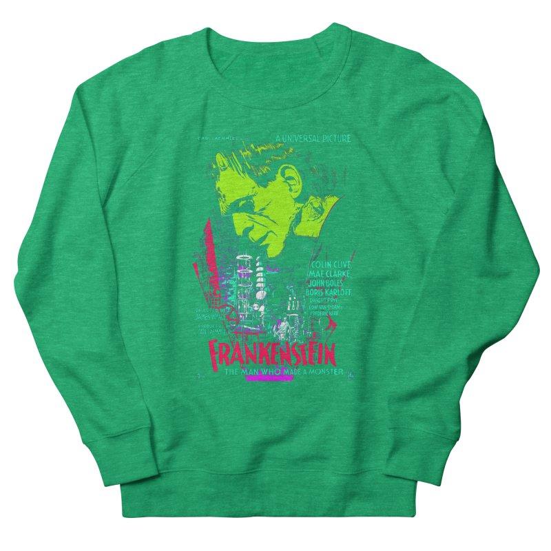 Frankenstein Monster Women's Sweatshirt by mostro's Artist Shop