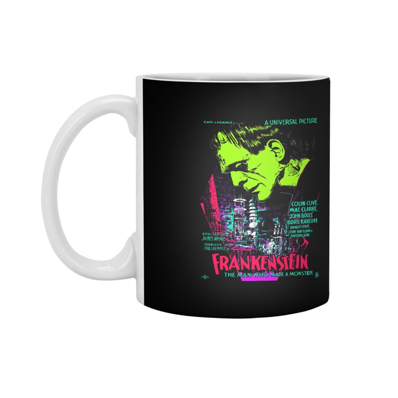 Frankenstein Monster Accessories Mug by mostro's Artist Shop