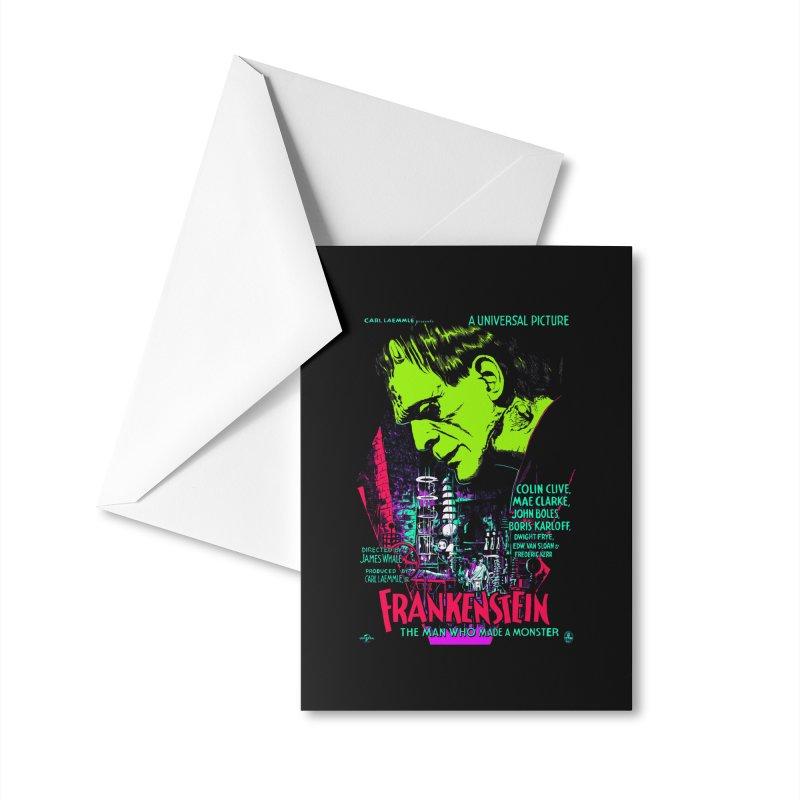 Frankenstein Monster Accessories Greeting Card by mostro's Artist Shop