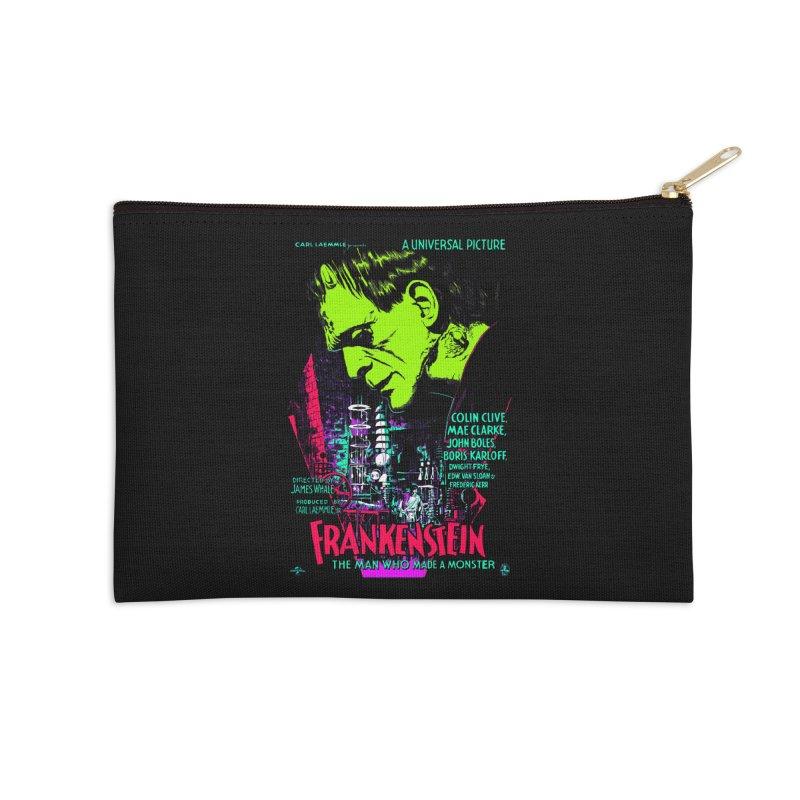 Frankenstein Monster Accessories Zip Pouch by mostro's Artist Shop
