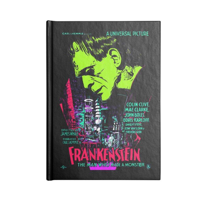 Frankenstein Monster Accessories Notebook by mostro's Artist Shop