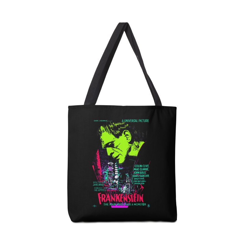 Frankenstein Monster Accessories Bag by mostro's Artist Shop