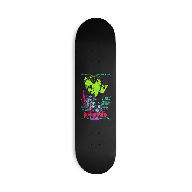 Frankenstein Monster Accessories Skateboard by mostro's Artist Shop