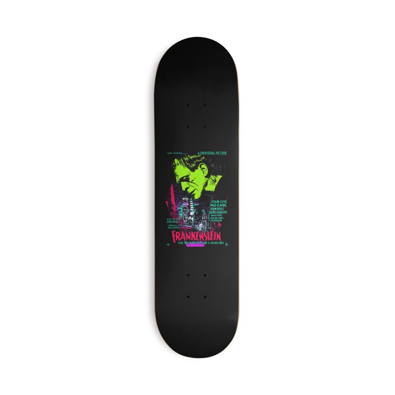 Frankenstein Monster Accessories Skateboard by mostro's Artist Shop