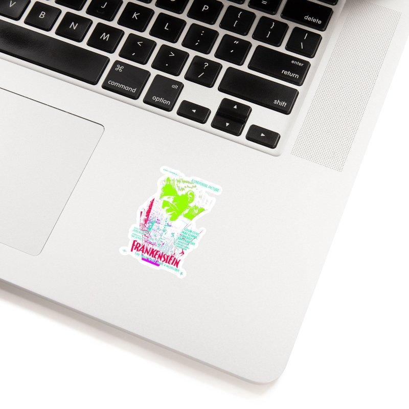 Frankenstein Monster Accessories Sticker by mostro's Artist Shop