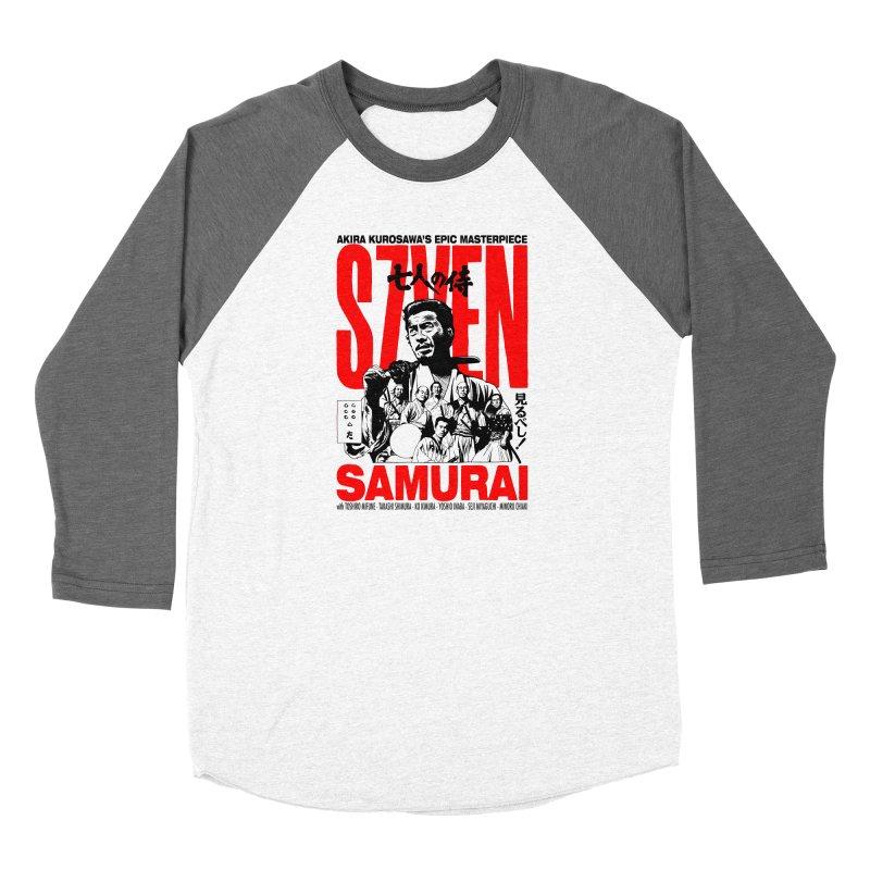 Seven Samurai Women's Longsleeve T-Shirt by mostro's Artist Shop