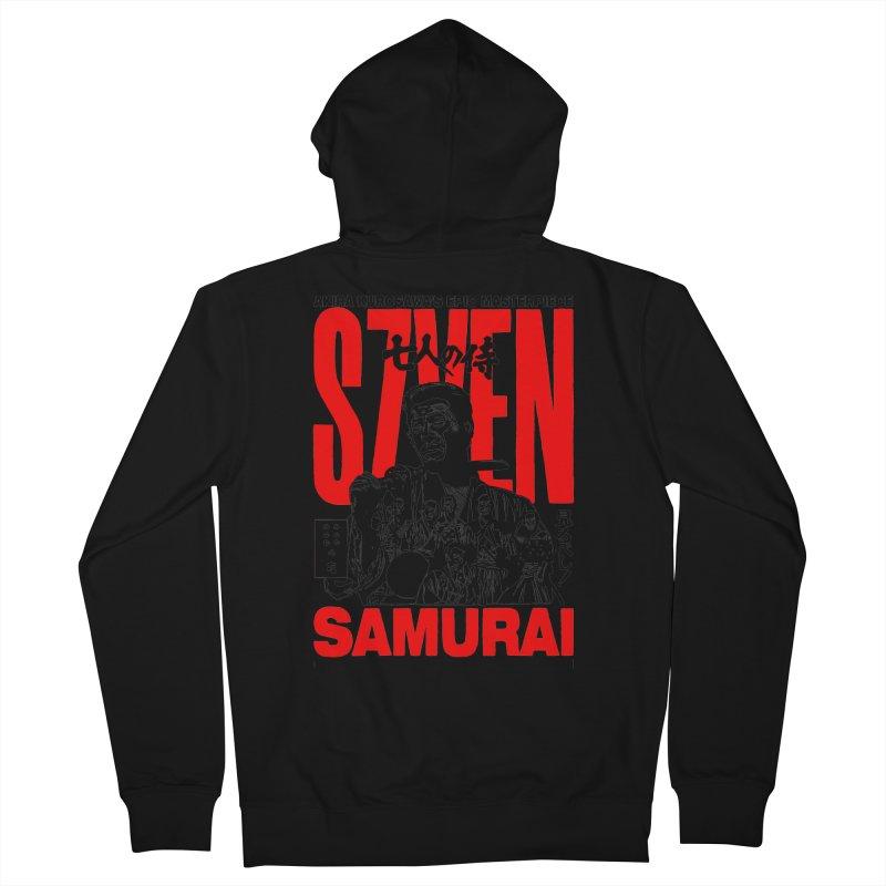 Seven Samurai Women's Zip-Up Hoody by mostro's Artist Shop
