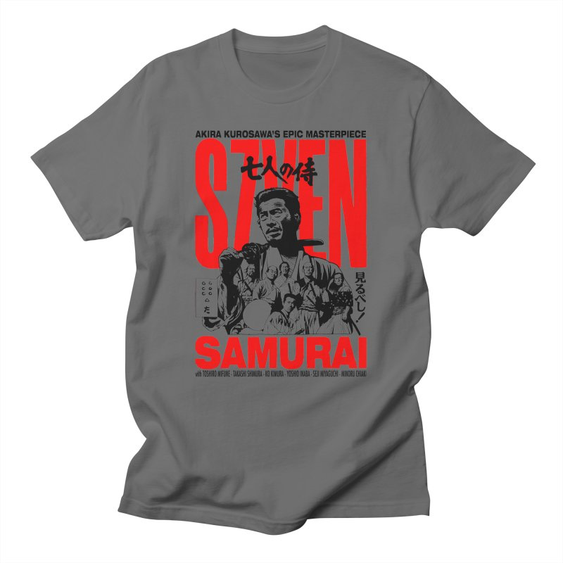 Seven Samurai Men's T-Shirt by mostro's Artist Shop