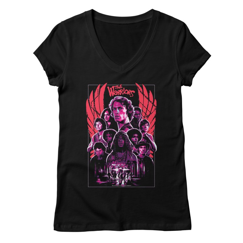 The Warriors Women's V-Neck by mostro's Artist Shop