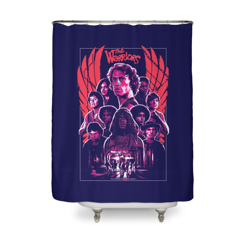 The Warriors Home Shower Curtain by mostro's Artist Shop