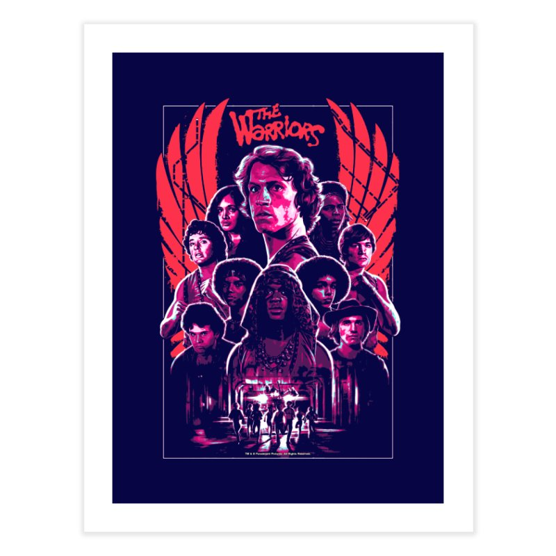 The Warriors Home Fine Art Print by mostro's Artist Shop