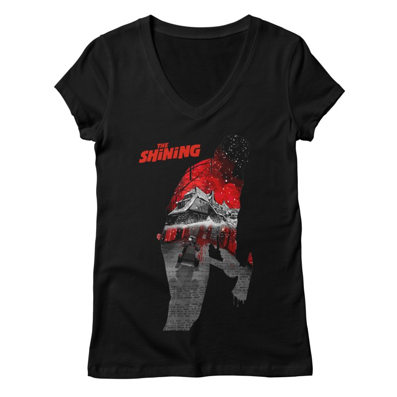 The Shining Women's V-Neck by mostro's Artist Shop