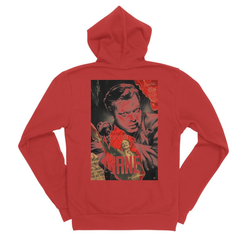 Citizen Kane Women's Zip-Up Hoody by mostro's Artist Shop
