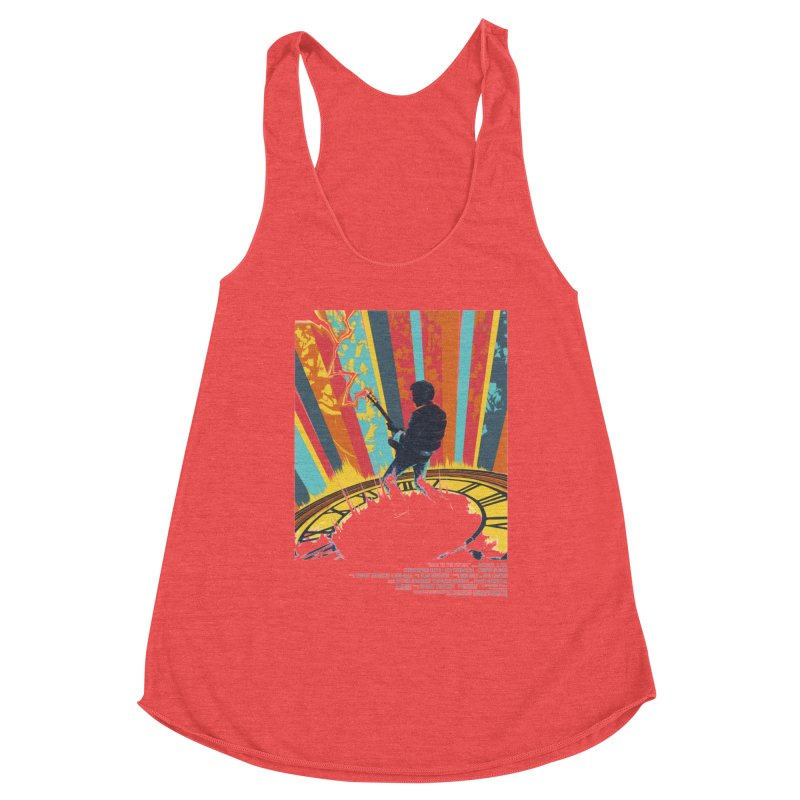 Marty McFly Guitar Hero Women's Tank by mostro's Artist Shop