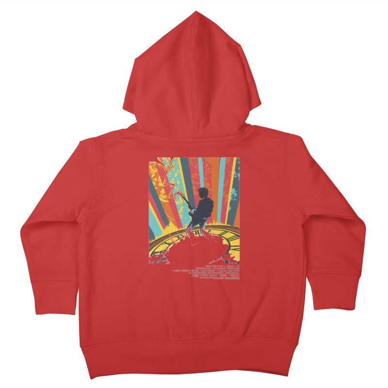 Marty McFly Guitar Hero Kids Toddler Zip-Up Hoody by mostro's Artist Shop