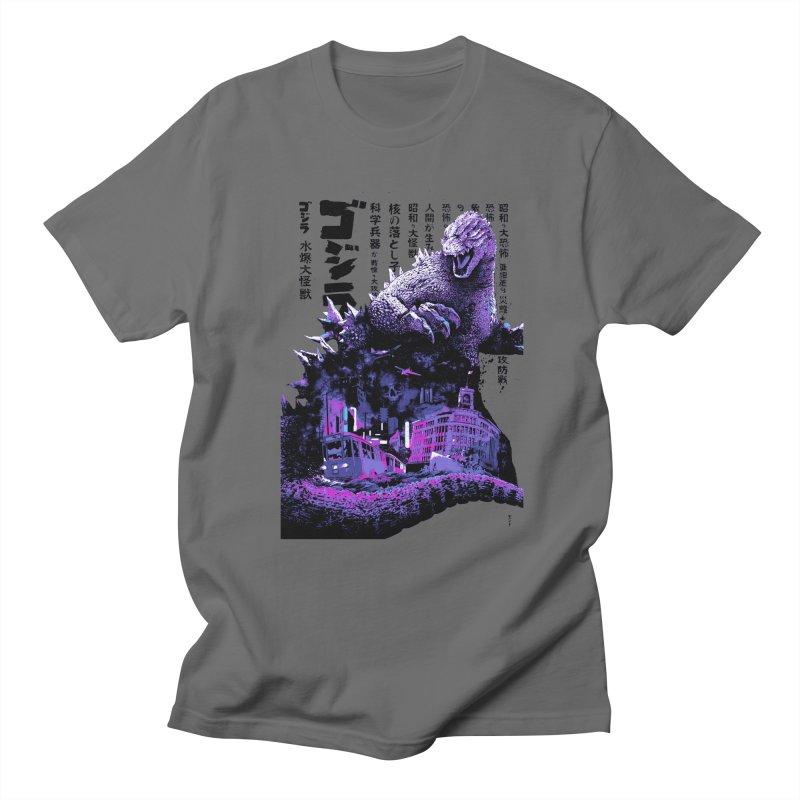 Godzilla Men's T-Shirt by mostro's Artist Shop