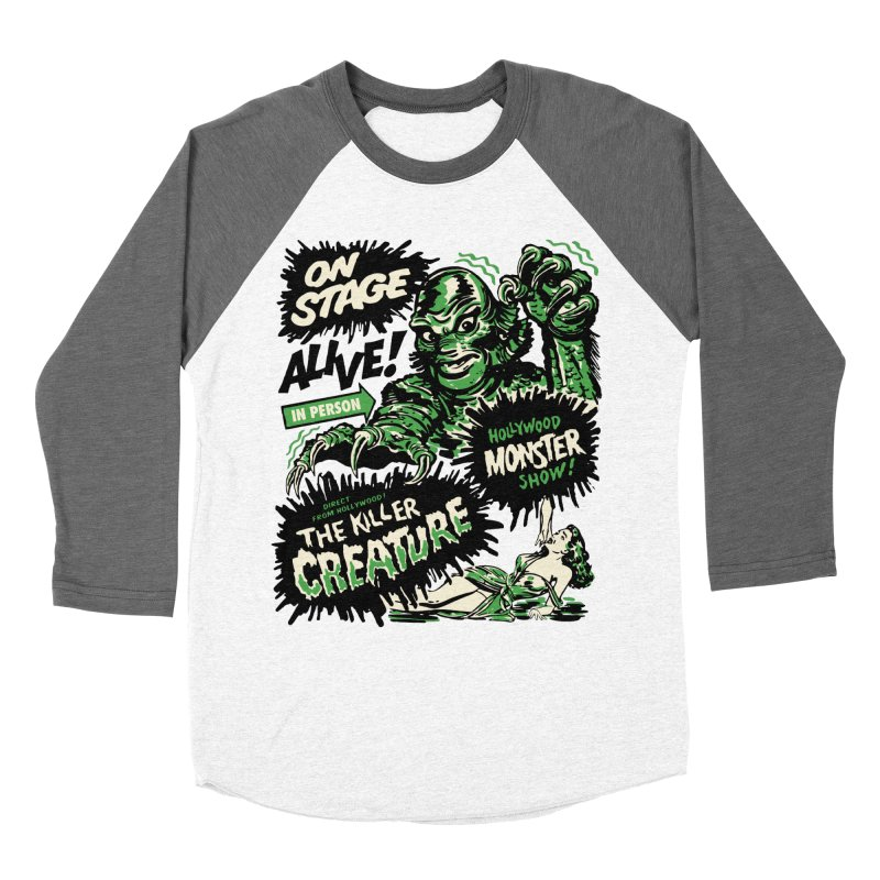 The Killer Creature Women's Longsleeve T-Shirt by mostro's Artist Shop