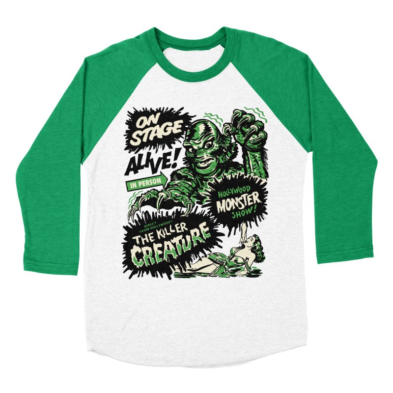 The Killer Creature Men's Longsleeve T-Shirt by mostro's Artist Shop