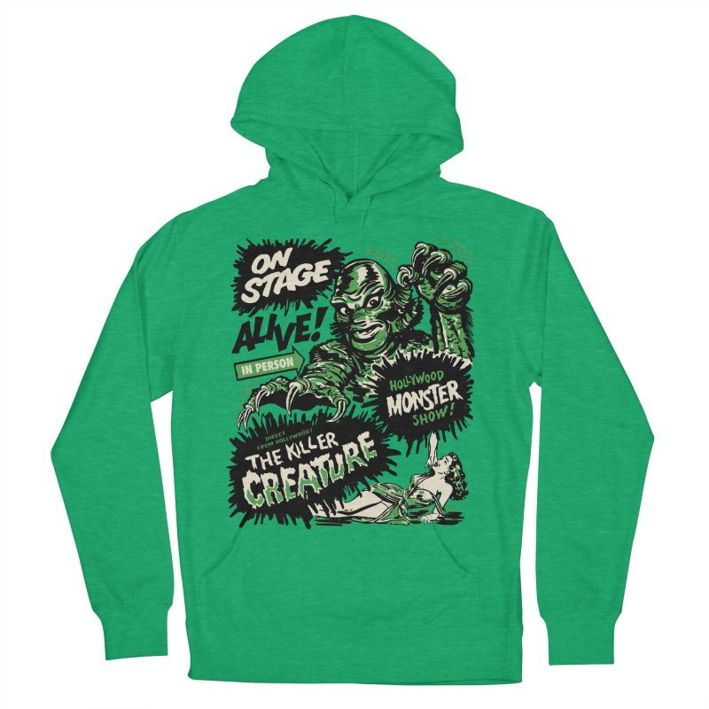 The Killer Creature Women's French Terry Pullover Hoody by mostro's Artist Shop