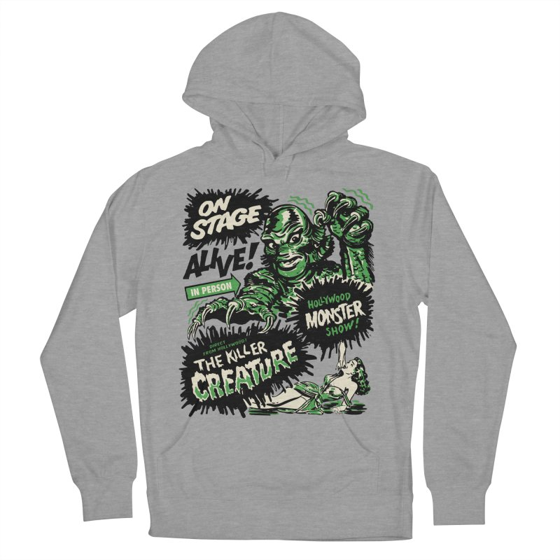 The Killer Creature Men's French Terry Pullover Hoody by mostro's Artist Shop