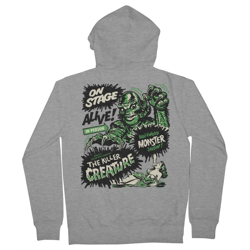 The Killer Creature Women's Zip-Up Hoody by mostro's Artist Shop