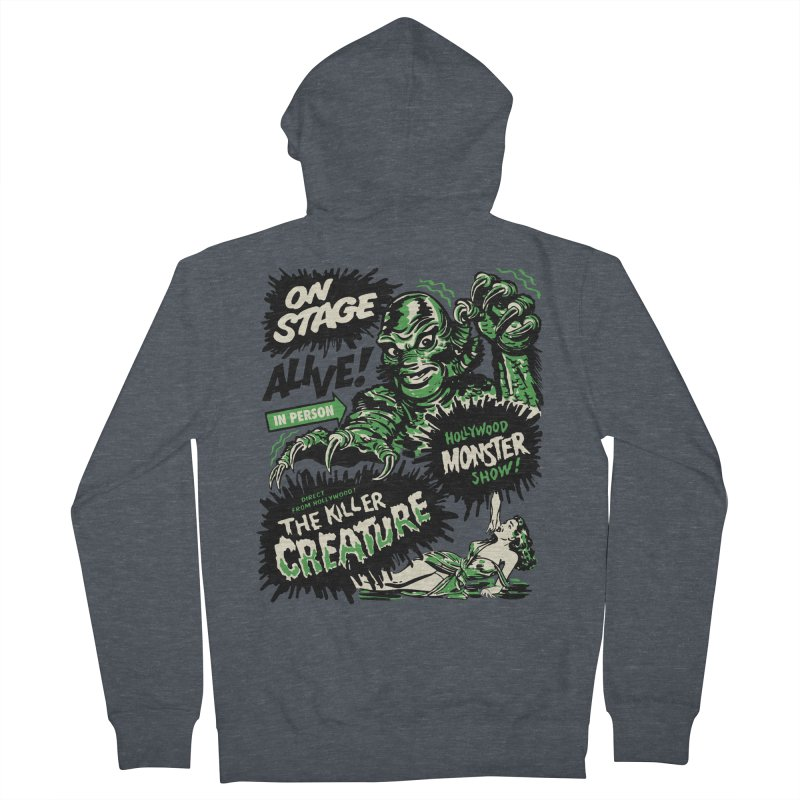 The Killer Creature Men's Zip-Up Hoody by mostro's Artist Shop