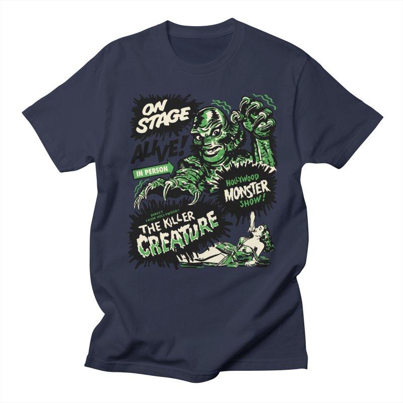 The Killer Creature Men's Regular T-Shirt by mostro's Artist Shop