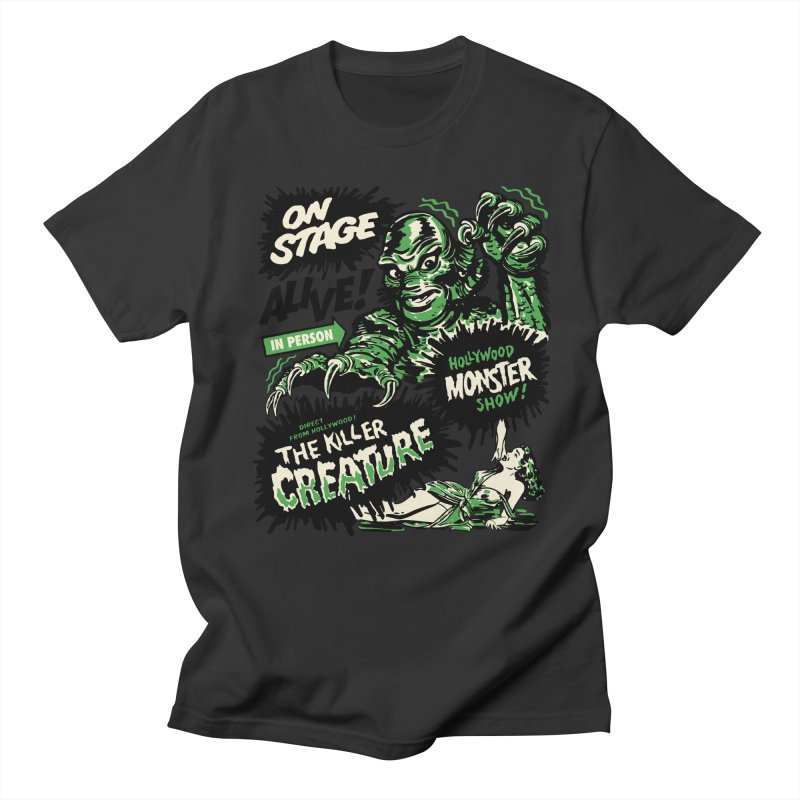 The Killer Creature Men's Regular T-Shirt by mostro's Artist Shop