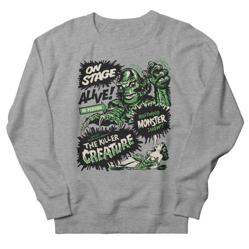 The Killer Creature Women's French Terry Sweatshirt by mostro's Artist Shop
