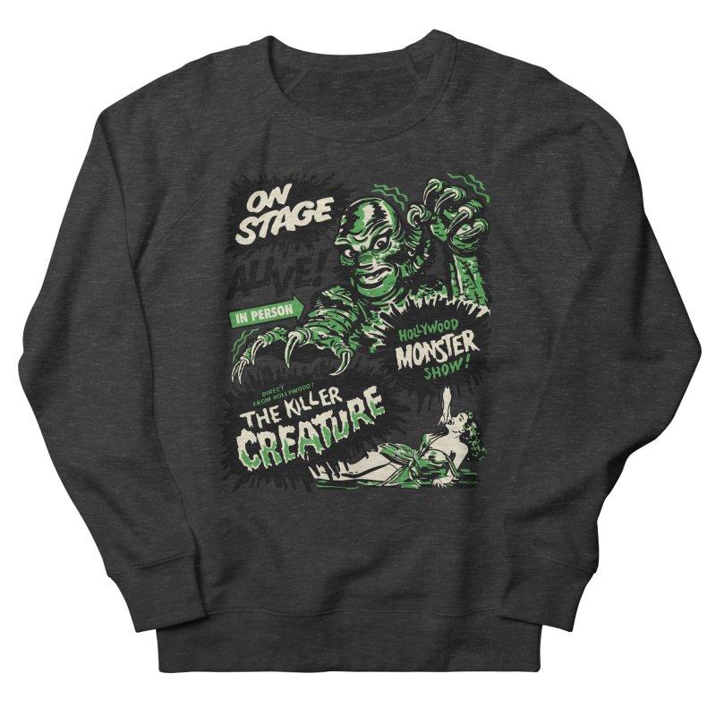 The Killer Creature Men's Sweatshirt by mostro's Artist Shop