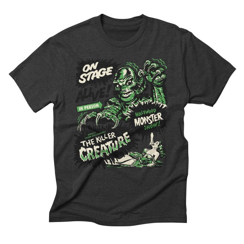The Killer Creature Men's Triblend T-Shirt by mostro's Artist Shop