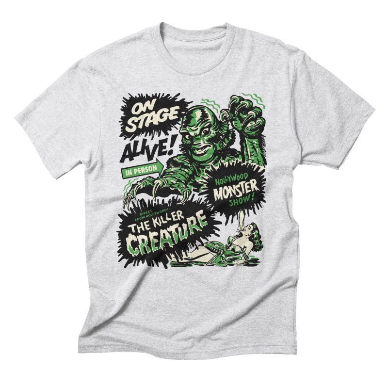 The Killer Creature Men's Triblend T-Shirt by mostro's Artist Shop