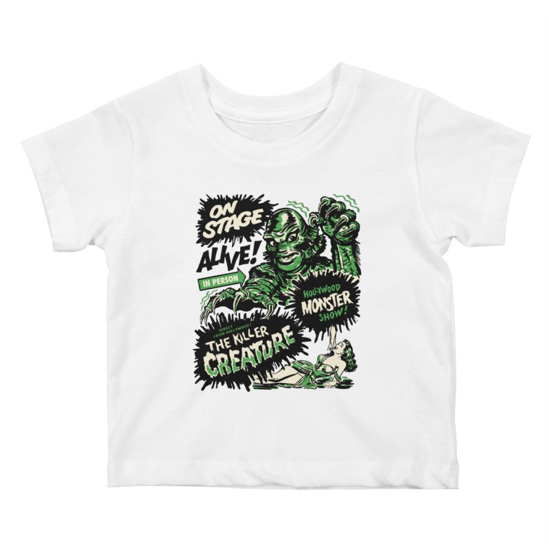 The Killer Creature Kids Baby T-Shirt by mostro's Artist Shop
