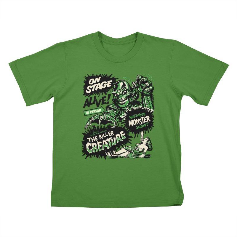 The Killer Creature Kids T-Shirt by mostro's Artist Shop