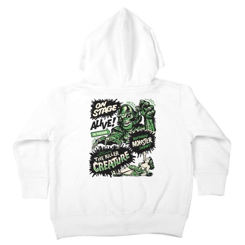 The Killer Creature Kids Toddler Zip-Up Hoody by mostro's Artist Shop