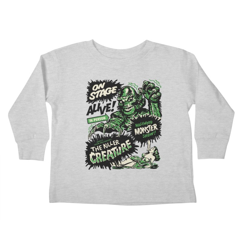 The Killer Creature Kids Toddler Longsleeve T-Shirt by mostro's Artist Shop