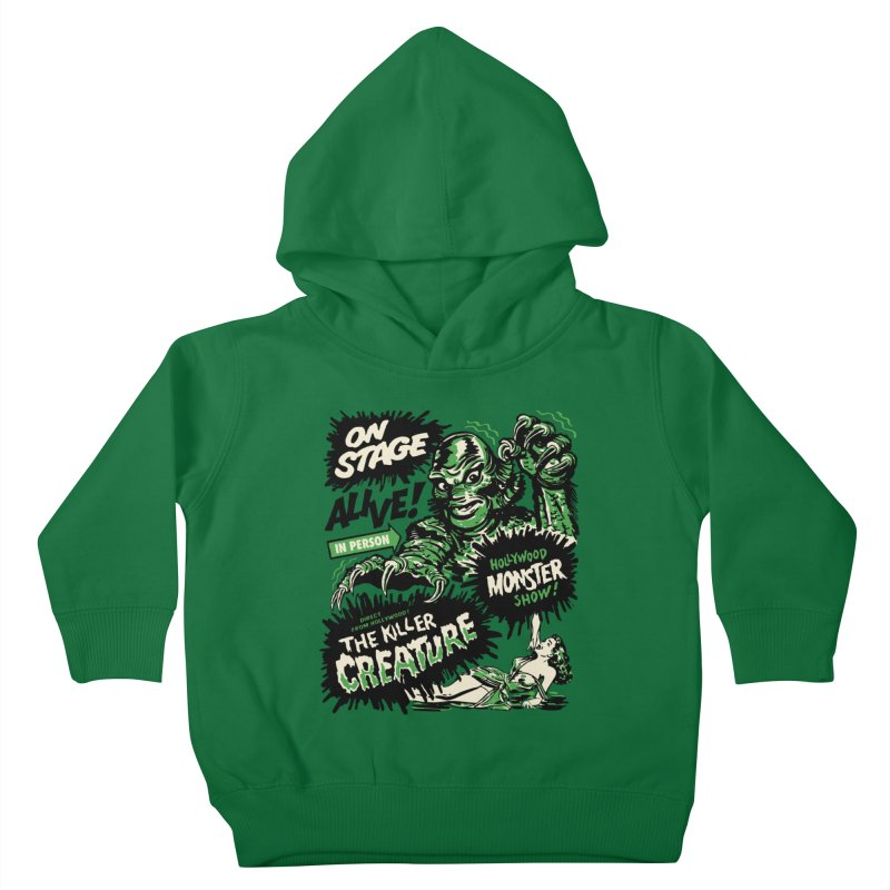 The Killer Creature Kids Toddler Pullover Hoody by mostro's Artist Shop