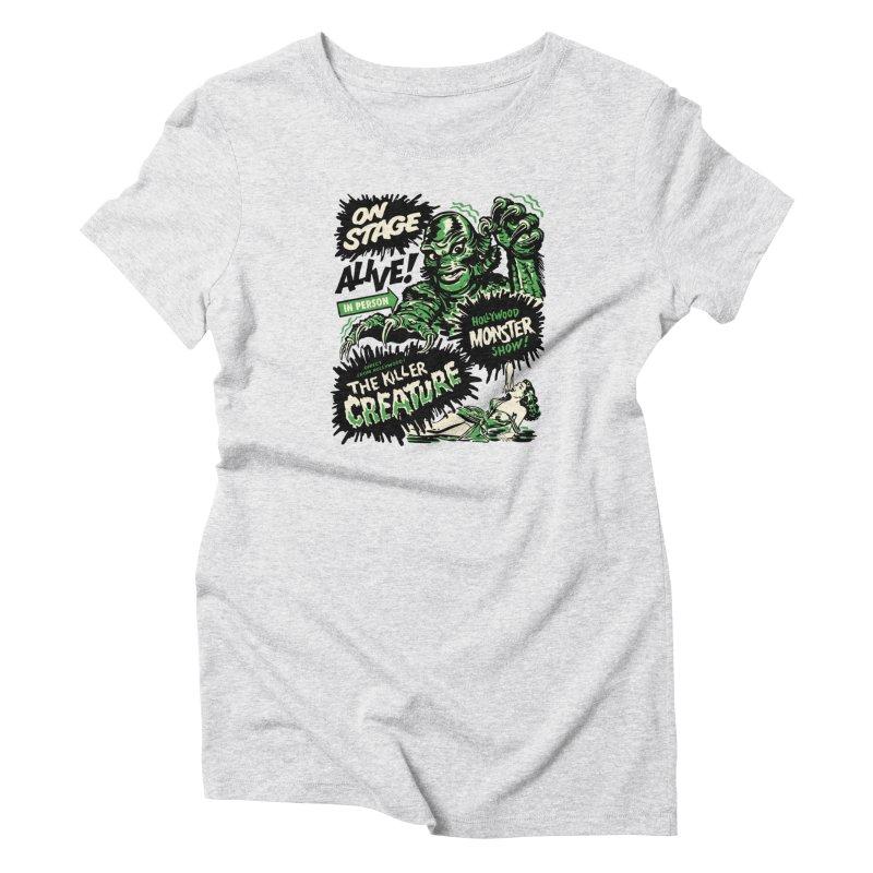 The Killer Creature Women's T-Shirt by mostro's Artist Shop