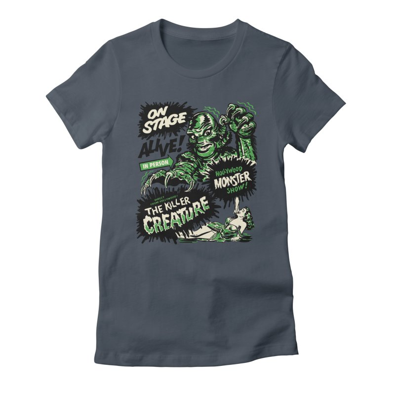 The Killer Creature Women's T-Shirt by mostro's Artist Shop