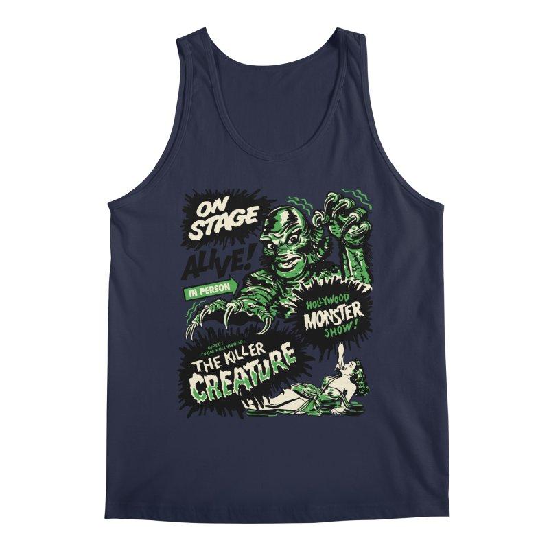 The Killer Creature Men's Regular Tank by mostro's Artist Shop