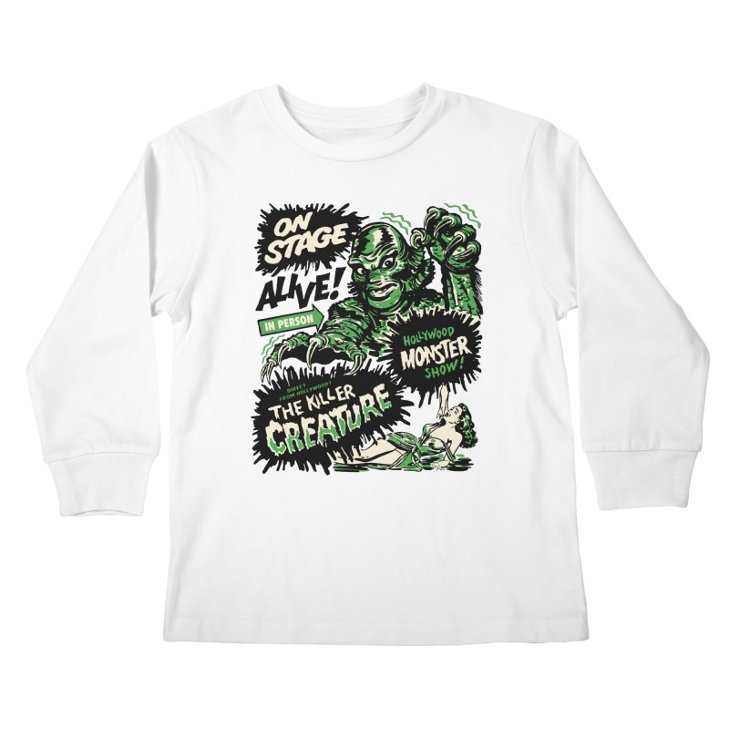 The Killer Creature Kids Longsleeve T-Shirt by mostro's Artist Shop