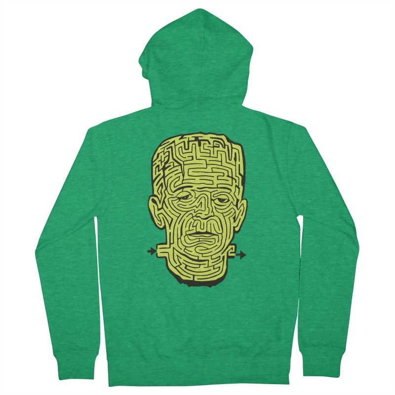 The Frankenmaze Men's Zip-Up Hoody by mostro's Artist Shop