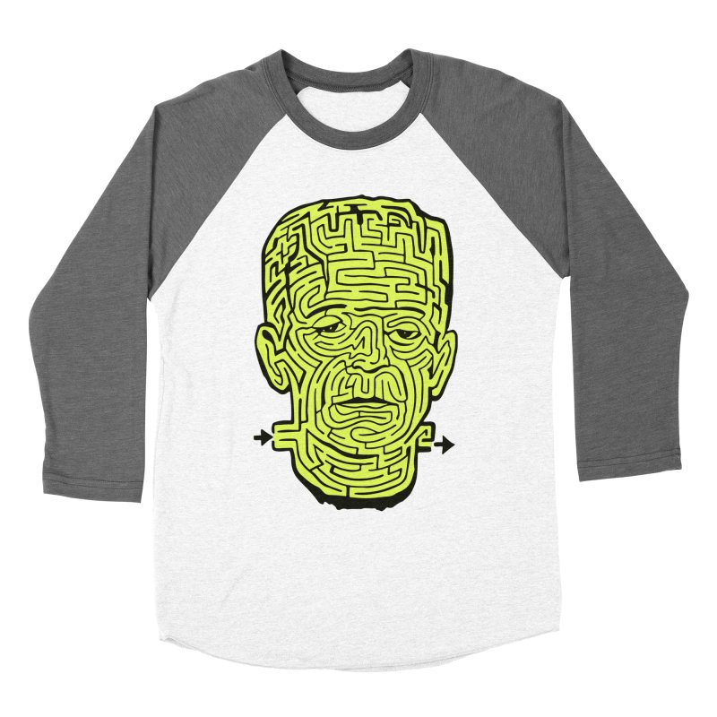 The Frankenmaze Women's Longsleeve T-Shirt by mostro's Artist Shop
