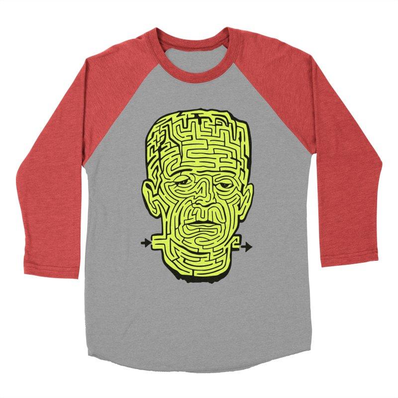 The Frankenmaze Men's Longsleeve T-Shirt by mostro's Artist Shop