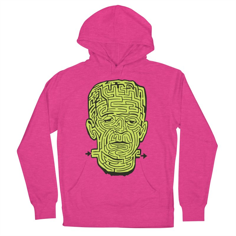 The Frankenmaze Women's French Terry Pullover Hoody by mostro's Artist Shop