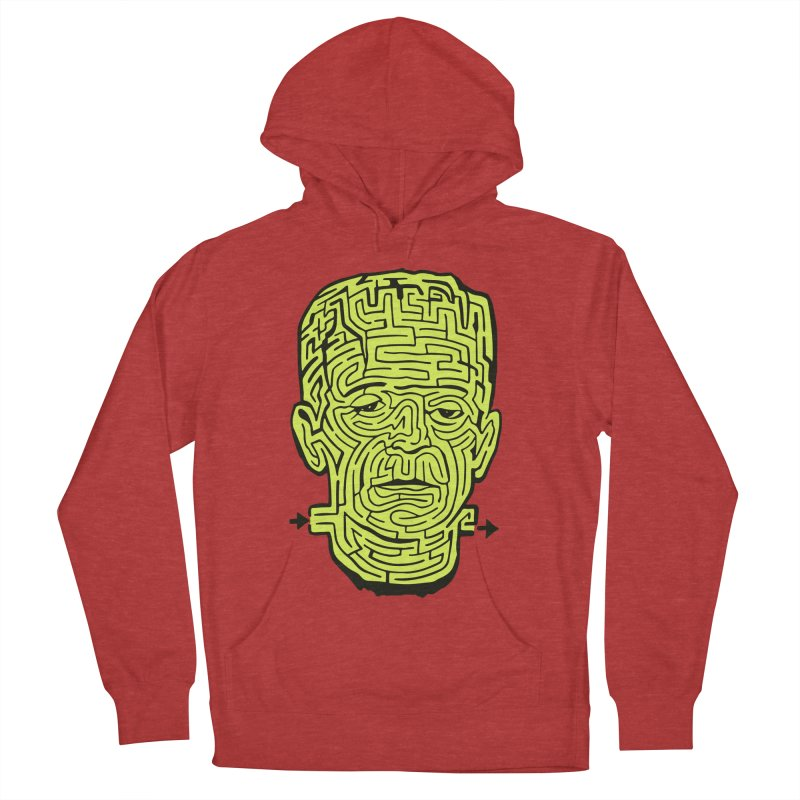 The Frankenmaze Men's French Terry Pullover Hoody by mostro's Artist Shop
