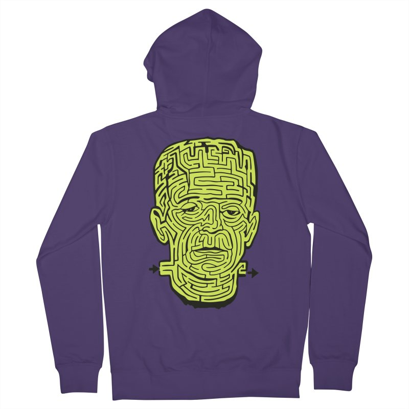 The Frankenmaze Women's French Terry Zip-Up Hoody by mostro's Artist Shop