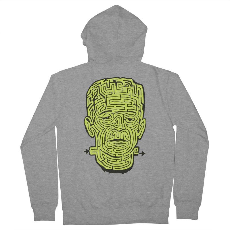 The Frankenmaze Men's Zip-Up Hoody by mostro's Artist Shop