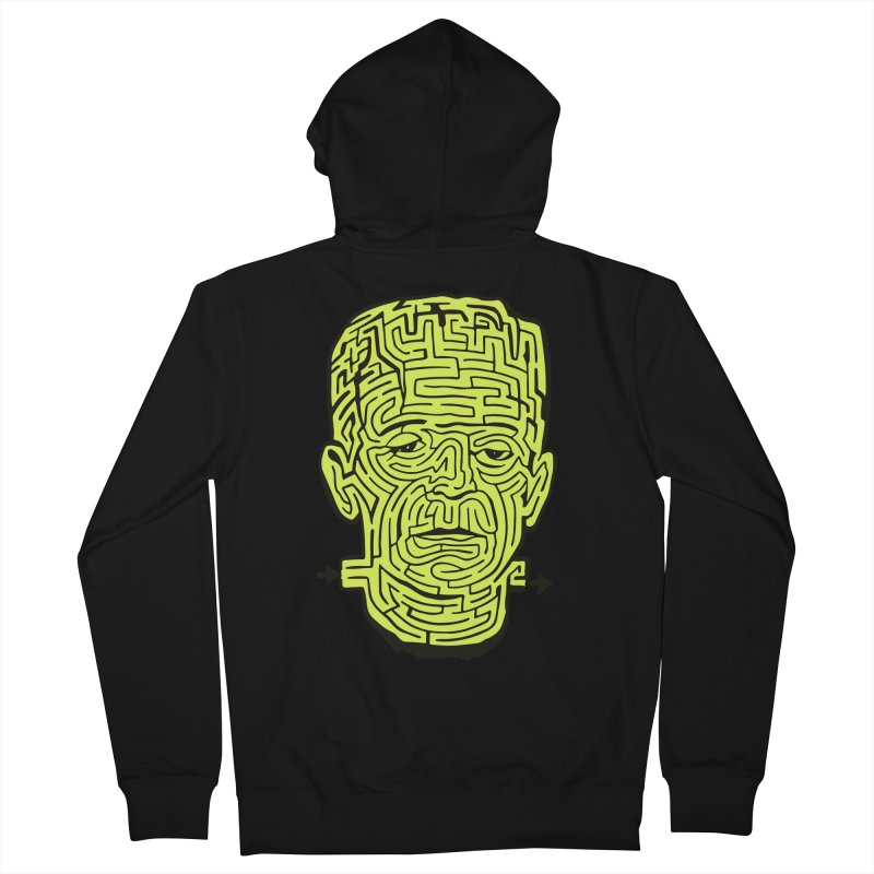 The Frankenmaze Men's French Terry Zip-Up Hoody by mostro's Artist Shop
